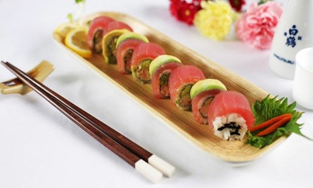 Sushi and Japanese Cuisine at Sushi on McKinney (Up to 44% Off). Two Options Available.