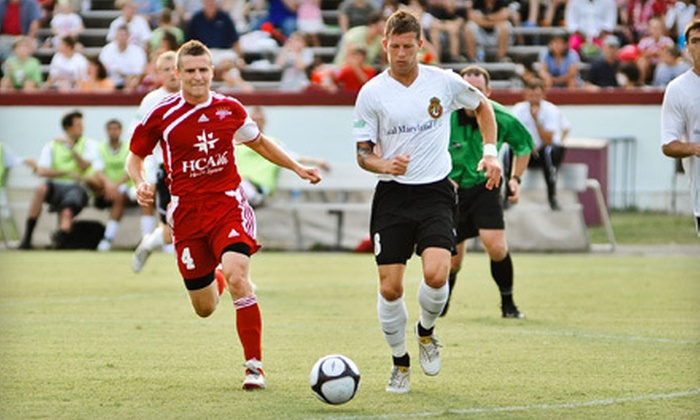 Richmond Kickers - Stadium: Richmond Kickers Soccer Game for Two or Four at Richmond City Stadium (Up to 58% Off)