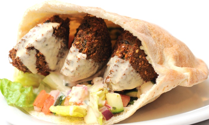 King Falafel - Millburn: Middle Eastern Food at King Falafel (Up to 50% Off). Two Options Available.