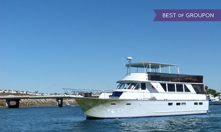 $39 for a 90-Minute Valentine's Harbor Cruise with Drinks for Two from Newport Fun Tours ($125 Value)