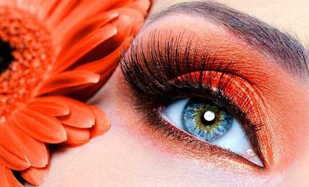 Full Set of Eyelash Extensions at masterthreading and hair (50% Off)
