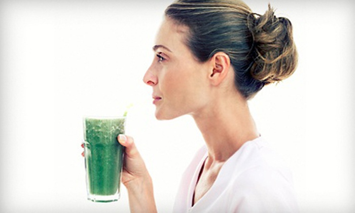 Eco Chateau - Mission Valley East: Four- or Eight-Day Juice Cleanse with One or Two Infrared-Sauna Sessions from Eco Chateau (Up to 55% Off)