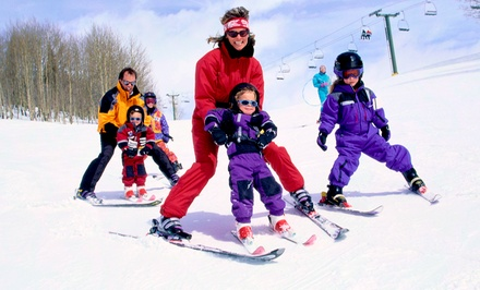 [One-, Two-, or Four-Person Pass for Night Skiing at Nashoba Valley Ski (46% Off)  Image]