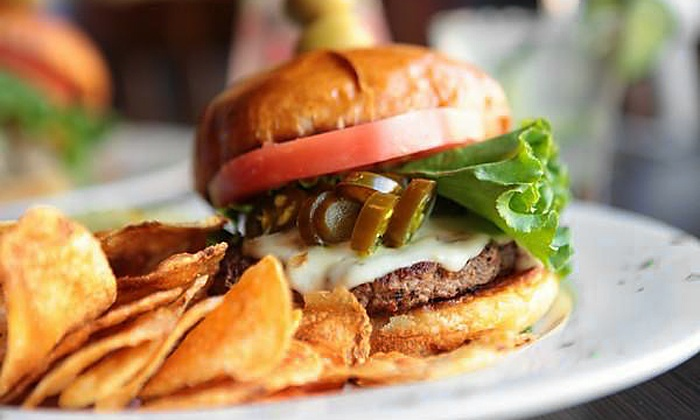 Brick's of Northville - Northville: Pizza, Burgers, and Craft Beer at Brick's of Northville (Up to 42% Off). Two Options Available.