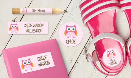 .99 for a Personalised Name Label Pack Don't Pay up to $109.95