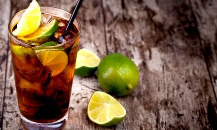 Aperitivo con cocktail e buffet illimitato