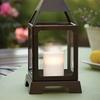 Decorative Lantern Candle Holder with Flameless LED Candle