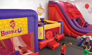 BounceU Charlotte: Open Bounce, Pre-K Drop-Off Program, One-Day Camp, Summer Passport, or Bounce Party at BounceU (Up to 51% Off)