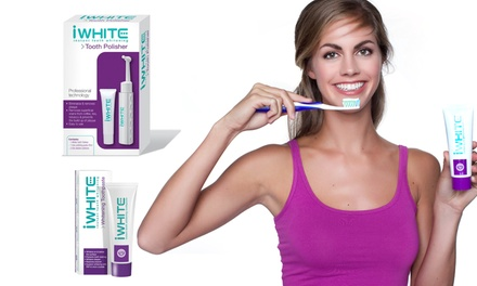 iWhite Tooth Polisher and Toothpaste