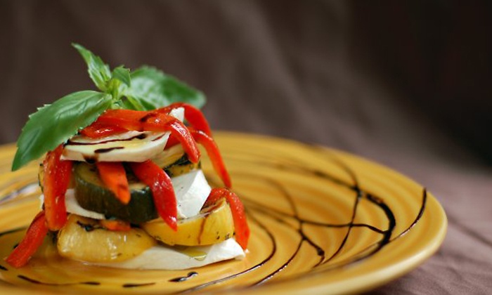 Caffé Martier - New York: $39 for a Bistro Cuisine Dinner for Two with Wine at Caffe Martier (Up to $95.50 Value)
