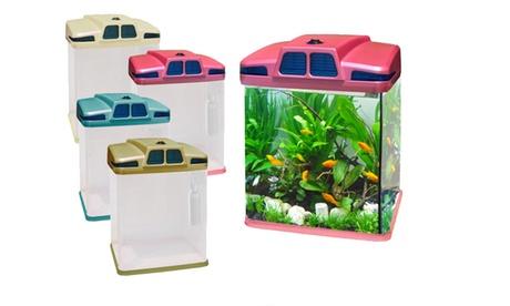Acquario ecologico da 6 litri. Vari colori disponibili