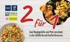 2-für-1 Hauptgerichte in Restaurants in der GALERIA Karstadt Kaufhof