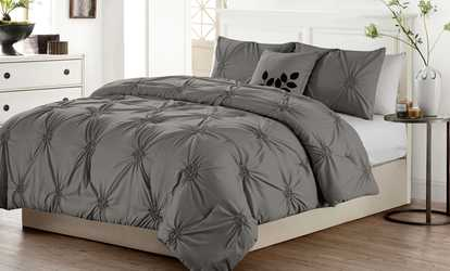 Image Placeholder Image For London Pintucked Oversized Comforter Set  (4 Piece)