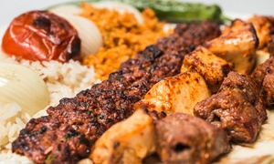 Angora Grill House: Two-Course Turkish Meal for Two or Four at Angora Grill House