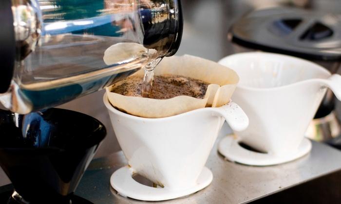Bean Vault Coffee - Hoboken: $11 for 5 Groupons, Each Good for $4 Toward Coffee, Lattes, & Food at Bean Vault Coffee ($20 Value)