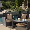 Roswell Outdoor Wicker Sofa Set (4-Piece)