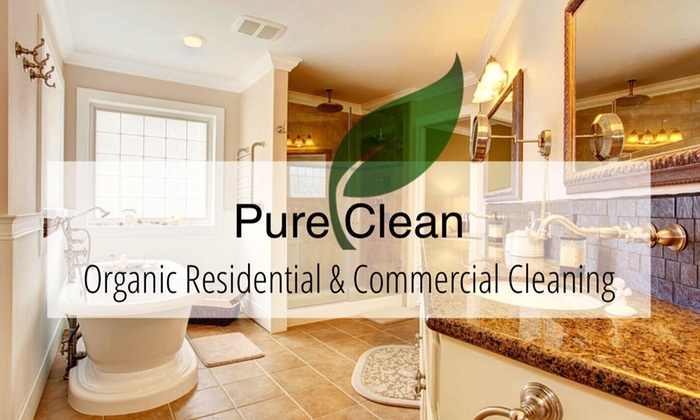 Pure Clean Organic Cleaning Co. - Palm Beach: Two Hours of Home Organization and Cleaning Services from Pure Clean Organic Cleaning Co. (45% Off)