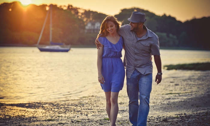New York Occasion Photography - Long Island: Engagement Photo Shoot with 100 Digital Images and Optional Prints from New York Occasion Photography (Up to 70% Off)