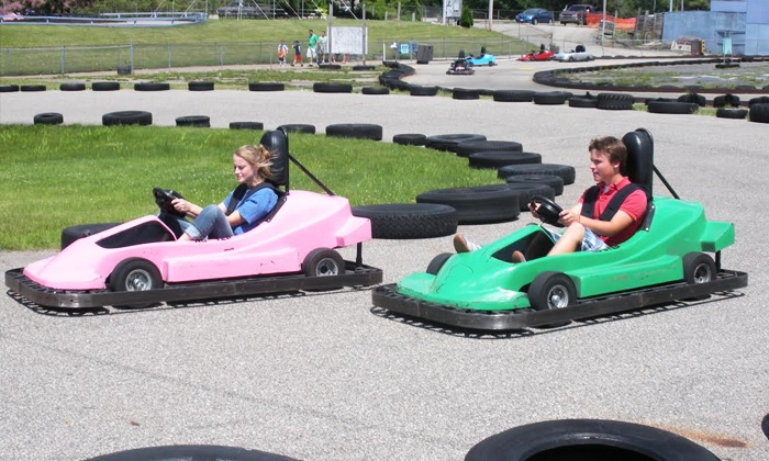 Playland Park - Playland Park: $27 for Four Go-Kart Rides and Four Rounds of Mini Golf at Playland Fun Center (Up to $52 Value)