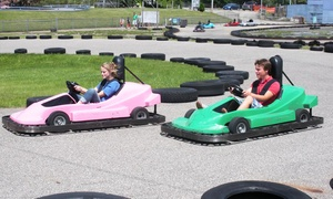 Playland Park: $27 for Four Go-Kart Rides and Four Rounds of Mini Golf at Playland Fun Center (Up to $52 Value)