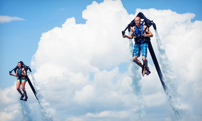 Jetpack America - Jetpack America - Newport Beach: Two-Hour Jetpack-Flight Lesson on a Weekday or Weekend at Jetpack America (Up to Half Off)