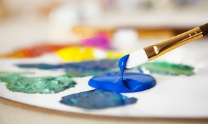 Wine and Design Stafford, VA: Painting Class at Wine and Design (Up to 38% Off). Two Options Available.
