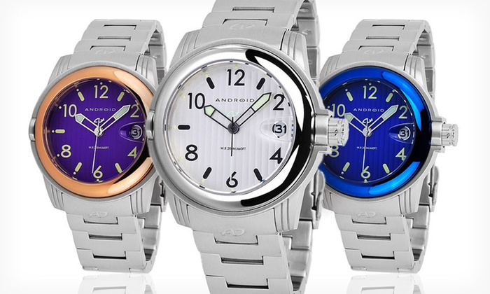 Android Decoy 2 Unisex Watches: $59.99 for an Android Decoy 2 Unisex Watch ($200 List Price). Four Colors Available. Free Shipping and Free Returns.