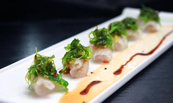 Vortex Asian Bistro - Port Jefferson Station: Sushi and Japanese Cuisine at Vortex Asian Bistro (40% Off). Two Options Available.