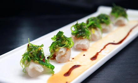 Sushi and Japanese Cuisine at Vortex Asian Bistro (43% Off). Two Options Available.