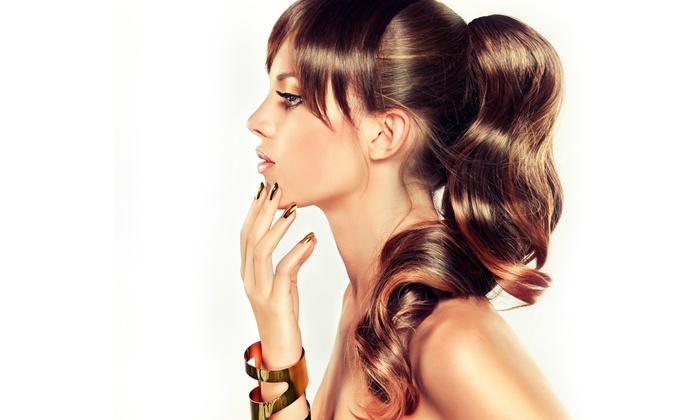 Maria Gonzalez at Salon Within - Turlock: Haircuts and Color Treatments from Maria Gonzalez at Salon Within (Up to 53% Off). Three Options Available.