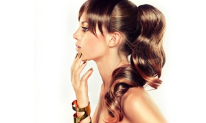 Suavity Design Salon: Haircut with Shampoo, Conditioning, Blow-Dry, and Optional Color at Suavity Design Salon (Up to 55% Value)