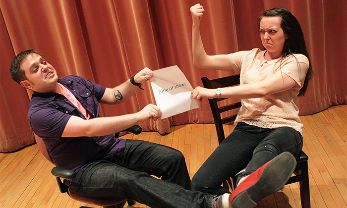"""""""Buyer & Cellar"""" or """"[title of show]"""" - Studio Two Riffe Center: """"Buyer & Cellar"""" or """"[title of show]"""" at Studio Two or Three Riffe Center on Thursday, June 18 (Up to 72% Off)"""