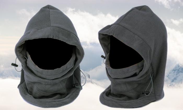 """i-like - Merchandising (IL): כובע פליז Wind Block נעים ומחמם במיוחד לכיסוי מלא של הפנים, הצוואר והראש. 3 צבעים לבחירה"