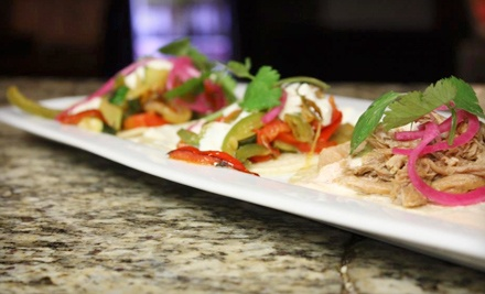 Tequila and Appetizers for Two or Margaritas and Appetizers for Four at COA Mexican Eatery & Tequileria (Up to 67% Off)