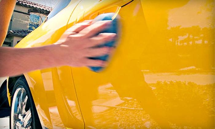 Plastic Trim Restoration - Houston: $49 for Full Mobile Detail for a Car or Midsize SUV Plus $30 Towards Services from Plastic Trim Restoration ($100 Value)