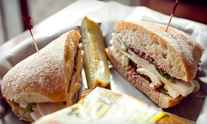 Artisano Bakery Cafe - Multiple Locations: $10 for $20 Worth of Entrees, Sandwiches, Paninis, Pasta, and Pizza at Artisano Bakery Cafe