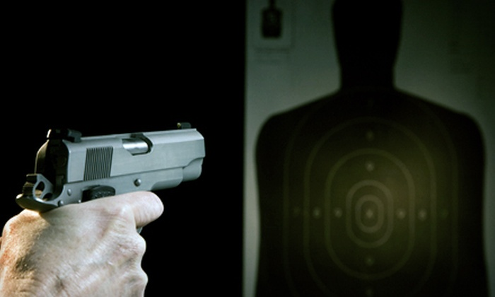 Maryland Small Arms Range - Rosaryville: $38 for a Firing-Range Package for Up to Two with Gun at Maryland Small Arms Range in Upper Marlboro ($76 Value)