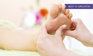 Happy Foot Spa: 60-Minute Foot-Reflexology Session at Happy Foot Spa (50% Off). Four Locations Available.