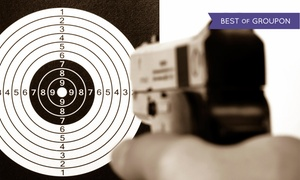 Eagle Guns & Firing Range: Shooting-Range Packages for One, Two, or Four or Five Shooting Range Visits at Eagle Guns (Up to 80% Off)