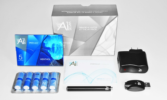 A1 Vapors - Doral: $20 for an Electronic-Cigarette Starter Kit from A1 Vapors ($39.99 Value)