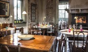 ALLA CORTE LOMBARDA: Alla Corte Lombarda, segnalato Michelin - Menu gourmet a scelta e vino (sconto fino a 65%)