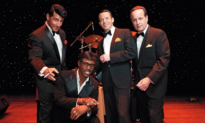 """The Rat Pack Is Back - Rosemont Theatre: """"The Rat Pack Is Back"""" on Saturday, May 7, at 8 p.m."""