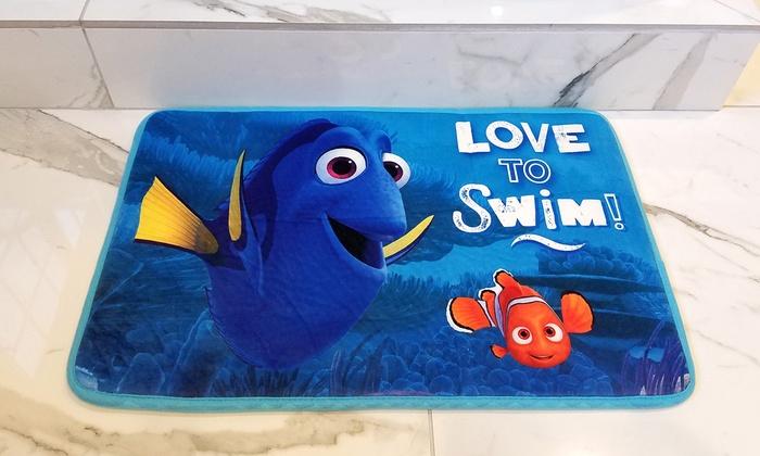 Disney Memory Foam Bath Mat Groupon Goods