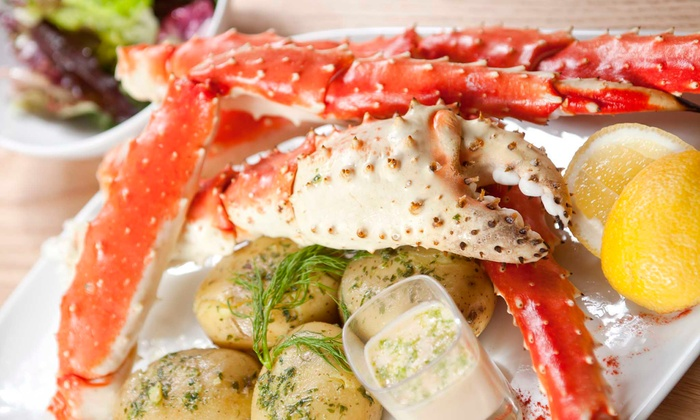 LIttle New Orleans Kitchen & Oyster Bar - Multiple Locations: Crab and Shrimp Dinner for Two or Four at Little New Orleans Kitchen & Oyster Bar (Up to 49% Off)