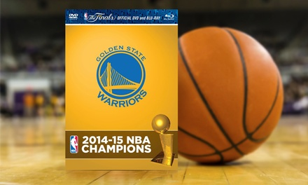 Golden State Warriors 2014-15 NBA Championship Season Highlights DVD/Blu-ray Combo