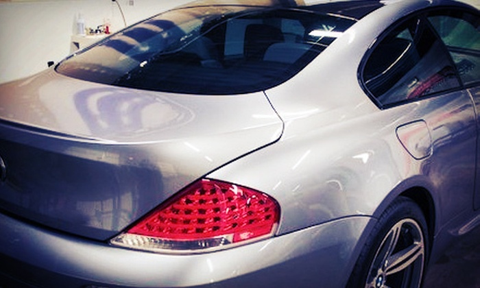 Tint Solutions - Multiple Locations: $49 for $100 Worth of Automotive Window Tinting at Tint Solutions