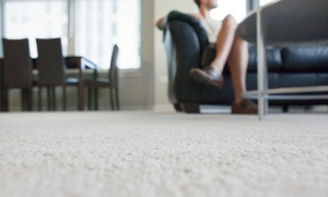 Mr. Magic Carpet Cleaning Plus: Three-Room Carpet Cleaning, Plus One Hallway from Mr. Magic Carpet Cleaning Plus (Up to 45% Off)