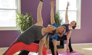 Abhyaasa Yoga: $35 for Five Classes at Abhyaasa Yoga ($80 Value)