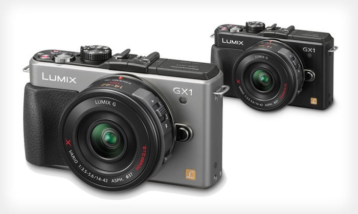 Panasonic DMC-GX1X 16MP Compact System Camera with14-42mm Power Zoom Lens: $399.99 for a Black or Silver Panasonic Lumix 16MP Compact System Camera ($949 List Price). Free Shipping.