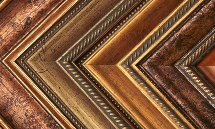 $40 for $100 Worth of Custom Framing at Plaza Artist Materials & Picture Framing